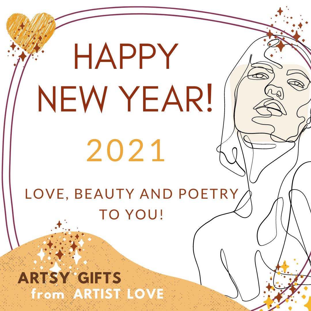 Happy New Year 2021 from Artist Love!